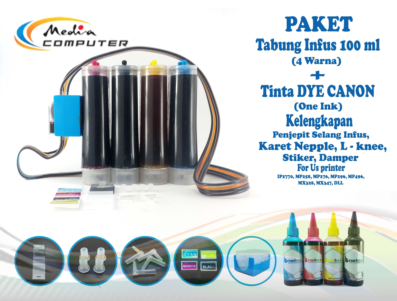 Tabung Infus Printer Bening 4 Warna Daftar Harga Terkini Dan Box Hitam Dengan Kunci Add To Wishlist Loading