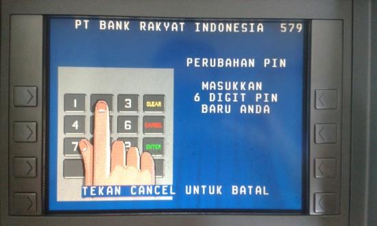 Cara Ganti PIN ATM BRI agar selalu aman